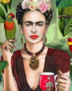 Frida Kahlo Artwork, Frida Paintings, Frida Kahlo Portraits, Frida Art, Paintings Famous, Famous Artists, Frida E Diego, Freida Kahlo, Paisley Art