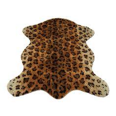 Cute Faux Leopard Rug