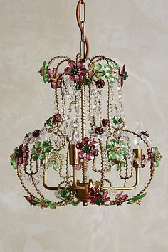 Posy Gem Chandelier - anthropologie.com