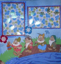 This is the first page of the Snow White and the Seven Dwarfs layout that I created.
