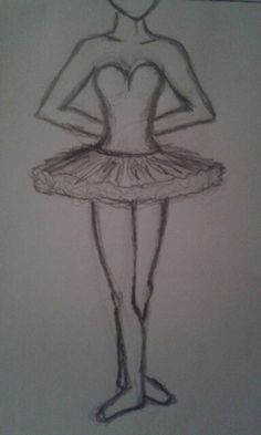 High speed ballerina drawing ♡ Not anywhere near perfect, but I'm trying hard :)