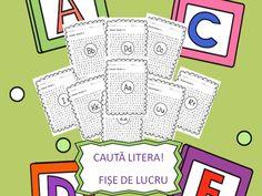 Fise litere | CLASA PREGATITOARE Preschool, Bullet Journal, Blog, Kids, Full Bed Loft, Young Children, Boys, Kid Garden, Blogging