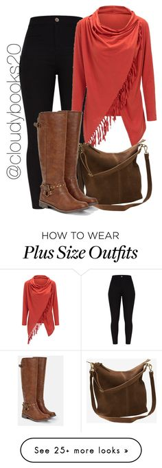 """For those Cooler Days"" by cloudybooks on Polyvore featuring WithChic, Ellos and JustFab"