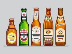 German Beer's  by Peter Voth #Design Popular #Dribbble #shots