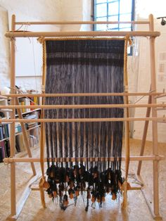 This amazing piece of weaving was in Bramsche, Germany.