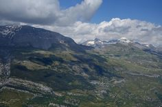 Portiello de Tella. Al fondo, las puntas Suelza (2972 metros) y Fulsa (2866 metros)