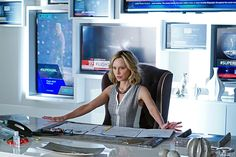 The #buzz is all about @CBS fall's most anticipated TV show, #Supergirl.Did you catch the #ChristopherGuy chair? #calistaflockhart