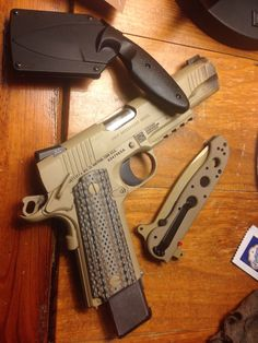 Colt M45A1 CQBP Marine PistolLoading that magazine is a pain! Excellent loader available for your handgun Get your Magazine speedloader today! http://www.amazon.com/shops/raeind