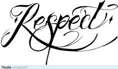 ik respecteer iedereen