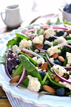 Blueberry Feta Salad