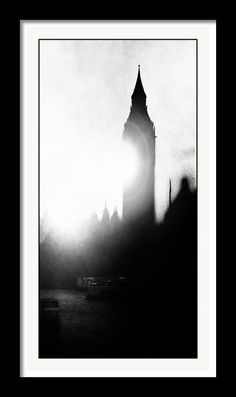 Fog On The Thames Framed Print By Fine Art By Andrew David
