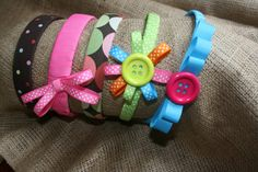 7Alive all Livin' in a Double Wide: Back to School Headbands