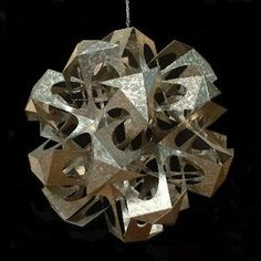Sculpture with Symmetrically Arranged Planar Components