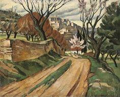 Adrian Allinson 1890-1959: North African Landscape