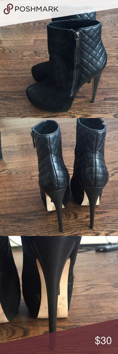 Stunning Ankle Heels Used but still in great condition ankle boots  4 1/2 inch heel truth dare by madonna Shoes Ankle Boots & Booties
