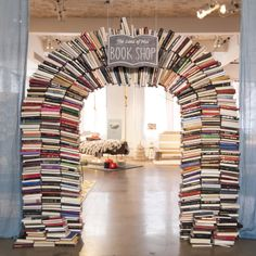 The Land Of Nod Book Shop Custom Built Arch Bookshelves
