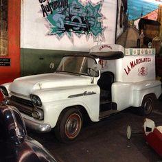 La marchantica EFE - helados EFE #ICECREAM #retro (en Museo del Transporte Guillermo Jose Schael)