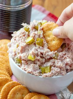 This Classic Ham Salad recips is great in a sandwich but you can also serve it on its own in a bowl, with crackers for dipping. Ham Salad Recipes, Pork Recipes, Snack Recipes, Cooking Recipes, Sandwich Fillings, Ham Steaks, Pork Ham, Family Fresh Meals