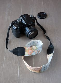Lanukas: DIY: Personaliza tu correa para la cámara