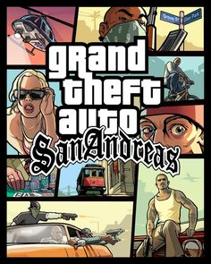 GTA San Andreas - the greatest game of all time. Solid storyline, innovative design.
