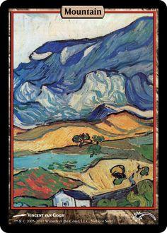 "consecrated-sphinx: ""Van Gogh Full Art Lands (HD Edition) """