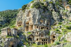 Myra, Turkey #bucketlist #rocktombs