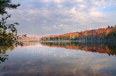 Red Jack Lake Fall Reflections