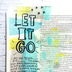 I miiiiight have a hard time letting go of past hurts  But Jesus wants me free. Is there anything worth holding onto that's better than freedom in Christ? Working through Priscilla Shirer's Fervent in my journaling bible is  Ephesians 4:31-32 Get rid of all bitterness, rage and anger, brawling and slander, along with every form of malice. Be kind and compassionate to one another, forgiving each other, just as in Christ God forgave you.  #illustratedfaith #ipaintinmybible