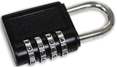 COMBINATION PADLOCK : ( Pack of 1 Pc )