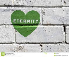 Green Graffiti Heart On White Wall Royalty Free Stock Photography ...