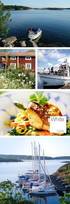 White Guide-mat i Karlshamns skärgård. Rekommenderas.