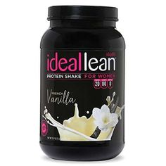 IdealLean French Vanilla Protein Powder has 100 deliciously smooth calories and 20 grams of whey protein isolate, so you can fuel your body right! Try this protein powder formulated specifically for women today! Whey Protein For Women, Protein Shakes For Women, Protein Powder For Women, Best Whey Protein, Whey Protein Isolate, Protein Snacks, High Protein, Fruit Smoothies, Smoothie Recipes