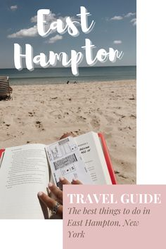 Here are the best things to do in East Hampton, New York. After a summer of living here I have put together a complete East Hampton travel guide including places to eat, day trips, and beaches in the Hamptons! #easthamptontravelguide East Hampton New York, Stuff To Do, Things To Do, Travel Abroad, Places To Eat, Day Trips, Travel Usa, Travel Guides, The Hamptons