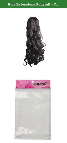 Hair Extensions Ponytail - TOOGOO(R) Fashion Thicker Claw Ponytail Long Wavy Curl Synthetic Fashion Hair Extensions Ponytail Black. * TOOGOO is a registered trademark. ONLY Authorized seller of TOOGOO can sell under TOOGOO listings.Our products will enhance your experience to unparalleled inspiration. TOOGOO(R) Fashion Thicker Claw Ponytail Long Wavy Curl Synthetic Fashion Hair Extensions Ponytail Black Color: Black Fashion Thicker Claw Ponytail Package Contents: 1 x Hair Extensions…