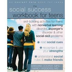 This work book includes forty activities you can do to recognize and use your unique strengths, understand the unspoken rules behind how people relate to each other, and improve your social skills. After completing the activities in this workbook, you will discover that you can get along with others and build friendships despite the challenges you face. All you need is the confidence to be yourself while still keeping the feelings of others in mind.