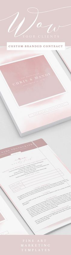 Wedding Template for Photographers Now Booking Weddings Wedding - wedding contract templates