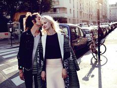 L'ete a Paris: #HannahHolman by #DarrenMcDonald for #MissVogueAustralia Issue #1 October 2013