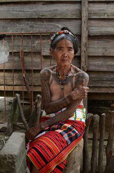 Whang-od, Last Kalinga Tattoo Artist from Philippines!