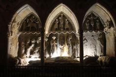 Sepulvro en la Catedral de León. 09-08-2015