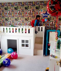 Previously, bunk beds for kids do not have stairs. What a kid needs to do is to climb up a side ladder to get to the upper bunk. Safe Bunk Beds, Girls Bunk Beds, Cool Bunk Beds, Twin Bunk Beds, Kid Beds, Beds Uk, Girls Bedroom, Dog Stairs, Bunk Beds With Stairs