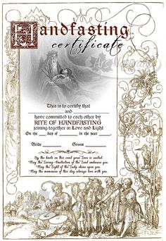 Free Printable  Beachy Keepsake Marriage Certificate  All Things