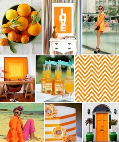 Mood Board Monday (on Tuesday): Tangerine