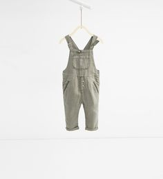 Long dungarees with braces-TROUSERS-BABY BOY | 3 months-3 years-KIDS | ZARA United States