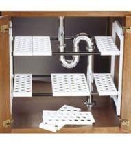 Kitchen Organization Diy Cupboards Under Sink Ideas Kitchen Sink Units, Kitchen Sink Decor, Kitchen Sink Window, Kitchen Storage Units, Kitchen Organization, Diy Kitchen, Storage Spaces, Kitchen Corner, Organization Ideas