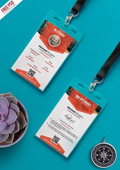 Arts And Crafts House Product Identity Card Design, Id Card Design, Id Design, Badge Design, Event Id, Event Logo, Event Branding, Modern Business Cards, Business Card Design