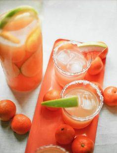 portrait of a cocktail // pomelo citrus salty dog recipe jojotatic.com