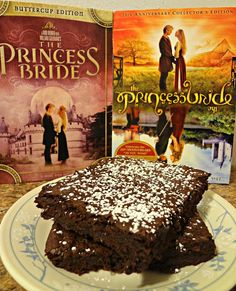 Iocane Dusted Brownies of Unusual Size....(aka Princess Bride Brownies)-perfect for the reception