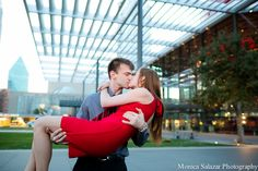 Dallas engagement photography by Dallas wedding photographer Monica Salazar #engagement #photography #photographer