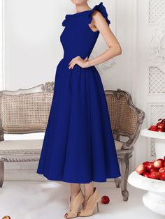 Women S Affordable Fashion Websites Elegant Midi Dresses, Warm Dresses, Summer Dresses, Evening Dresses Plus Size, Evening Dresses For Weddings, Evening Dress Patterns, Maxi Dress With Sleeves, Plain Dress, Dress Silhouette