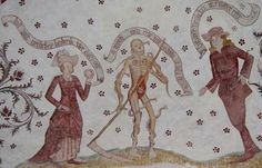 Loxstdeter Totentanz - detail  (via mirabile---visu)